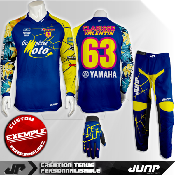tenue personnalise custom mx outfit long island jump industries