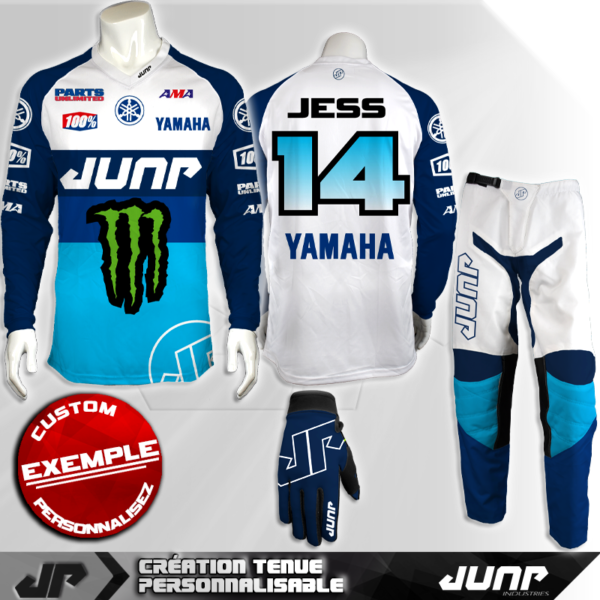 tenue personnalise custom mx outfit arcklon jump industries