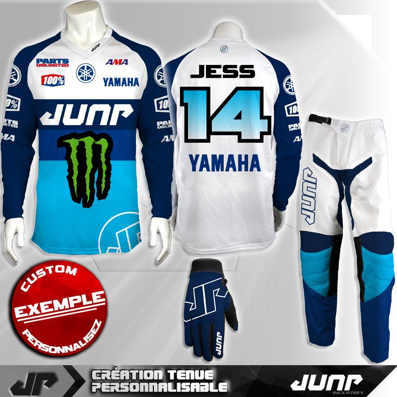 tenue personnalise custom mx outfit arcklon jump industries