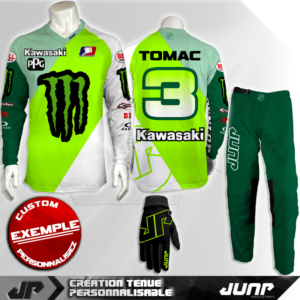 tenue personnalise custom mx outfit springter jump industries