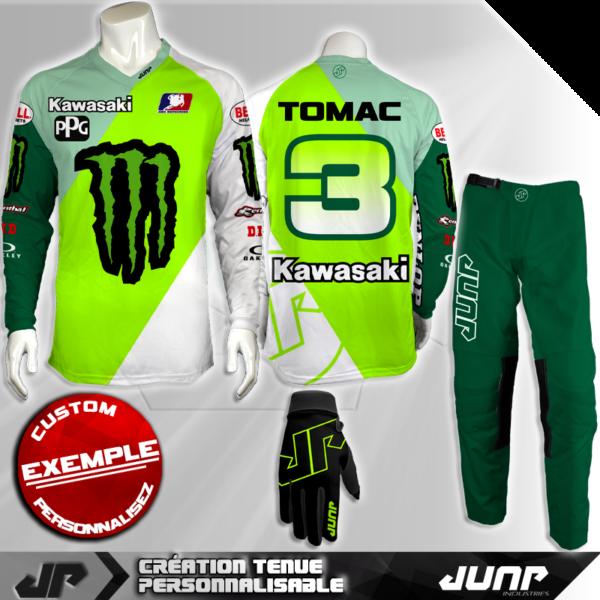 tenue personnalise custom mx outfit springter jump industries