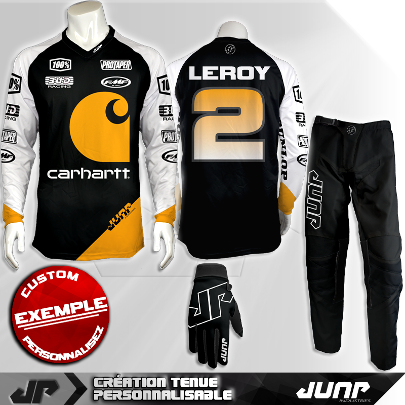 tenue personnalise custom mx outfit sunlame jump industries