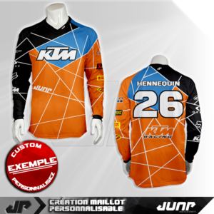 personnalisation maillot charlotte jump industries