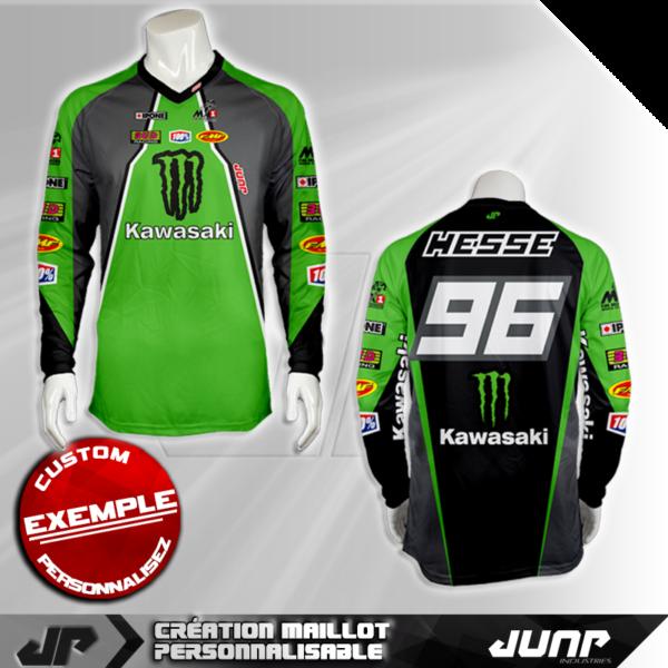 personnalisation maillot green bay jump industries