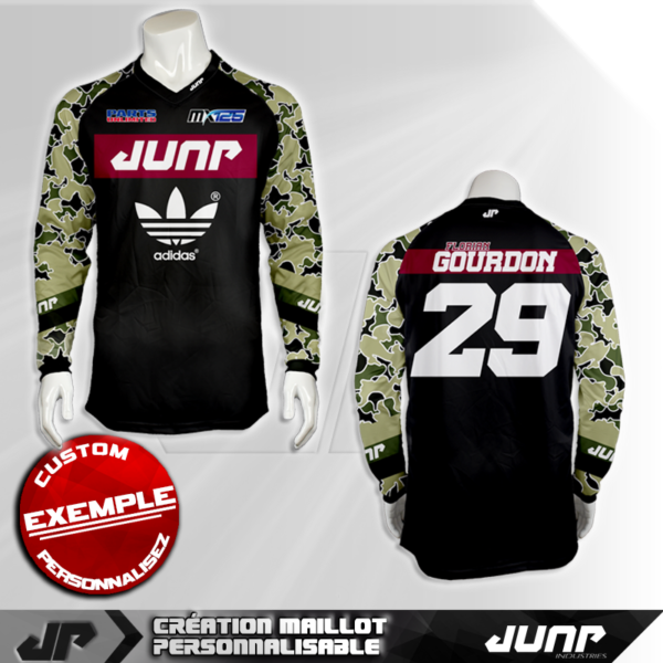 personnalisation maillot indiana jump industries