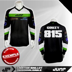 personnalisation maillot kansas jump industries