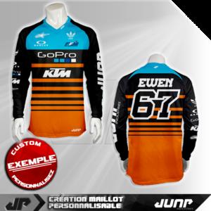 personnalisation maillot san diego jump industries