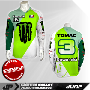 personnalisation maillot springter jump industries