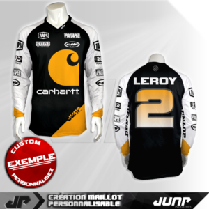 personnalisation maillot sunlame jump industries