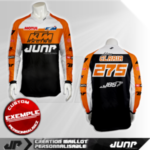 personnalisation maillot utah jump industries