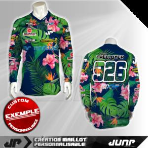 personnalisation maillot waian jump industries